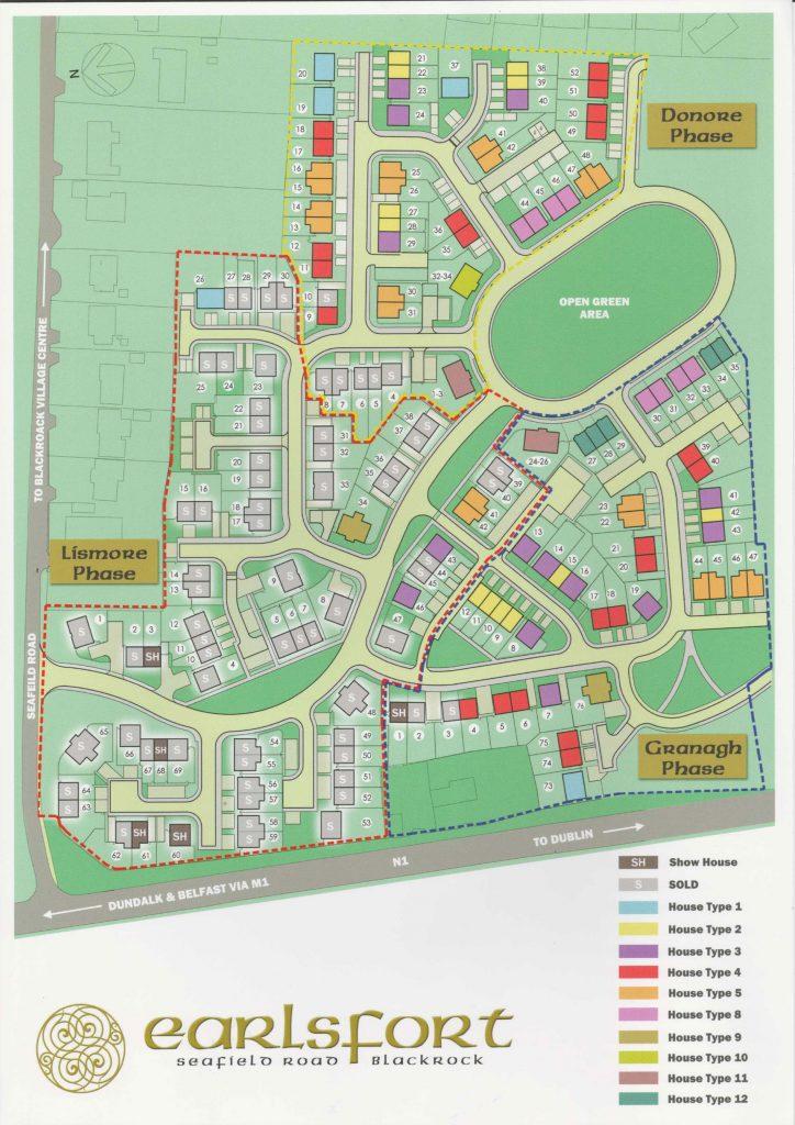 Earlsfort Map
